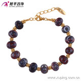 New Arrival Special Women Round Beads Gold Jewelry Bracelet in Brass and Alloy Copper --74194