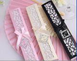 Cream White Gift Box Packing Custom Wedding Gift Fan Wholesale