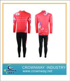 Custom Full Zip Long Sleeve Shirts and Cycling Pants