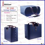 Wholesale Custom Multi Use Leather Storage Basket Bag (6380)