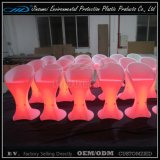 PE Material Rorational Moulding Plastic LED Lighted Bar Chair