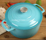 Enamel Cast Iron Cookware Manufacturer in China Dia 26cm 5.5L