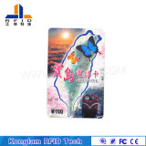 Customized Various Chip Smart RFID Paper Card for Football Tickets