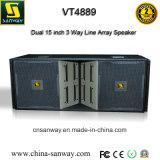 Vt4889 Dual 15 Inch PRO Outdoor Line Array Loudspeaker