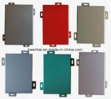 Color Customized PVDF Coated Aluminum Wall Cladding Panel
