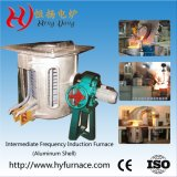 Industrial Electric Induction Melting Furnace for Stainless Steel /Iron /Ferrous or Nonferrous (GW-1T)