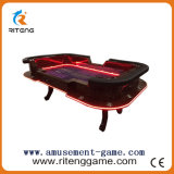Wood Gambling Slot Table with LED Light