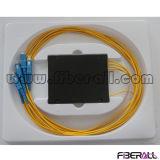 1X4 Fiber Optical PLC Splitter with ABS Box