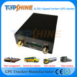Dual Speed Limiter Vehicle GPS GSM GPRS Tracker for Fleet Management