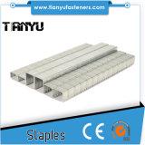 Heavy Duty Stainless Steel Narrow Crown Staples