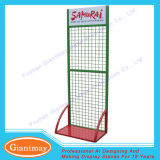 Metal High Quality Floor Hook Hanging Grid Wire Display Rack
