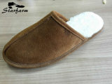 Genuine Leather Soft Winter Indoor Slipper Fashion Shoe