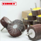 Abrasive Flap Wheel with Male Thread Shaft