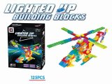 Building Blocks with Light for Kids Aircraft 125PCS