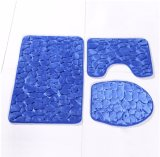 Stone Partern Bathroom Mat with Memory Foam Three Pieces Hotsell in Canada