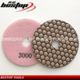 Bestop 4 Inch Microfiber Diamond Polishing Pads for Stone