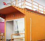 Shipping Container Hotel Room