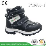 Grace Health Shoes Children Black Stability Boots School Boots Ortho Boots Magic Lace Shoes Orthopedic Shoes