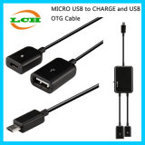 Micro-USB to Data/Powercharge USB OTG Adapter for Android Phone/Tablet Hub