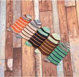 Hot Street Funky Design Women&Men Stripe Dress Sock