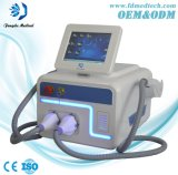 Opt Hair Removal Skin Rejuvenation Beauty Device with Two Handles