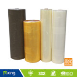 Yellowish and Clear BOPP Self Adhesive Packing Tape Jumbo Roll