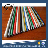 Colorful Solid Fiberglass Reinforced Rod with UV Resistant and Fiberglass Stakes