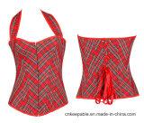 Women′s Waist Training Corset Overbust Steel Boned Waist Cincher Corset