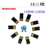 Top Quality and Low Price UDP Black Colloid Products USB Flash Drive for Wholesale & Bulk Sale 128MB-128GB