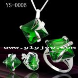Fashion Jewelry 925 Sterling Silver Jewelry Set Factory Wholesale