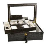 Brown Crocodile Luxury Jewelry Leatherette Packaging Gift Box