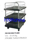 Capacity 150kgs Plastic Plateform T3 Roll Container