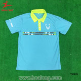 Healong Customized Cut and Sew Blue Cotton Polo Shirt