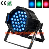 Aluminum Die-Casting PAR64 with 3W*36PCS RGB Tri Color LED PAR Can Stage Lights
