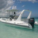 Liya 22ft Military Cheap Rib Inflatable Boat China Manufacturers