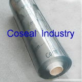 Super Clear Flexible Fabric PVC Sheet (polyvinyl chloride)