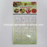 Custom Popular Calendar Fridge Magnet with Promotion