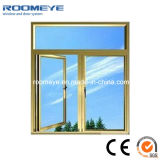 Champagne Color Aluminium Casement Window Best Price