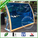 Polycarbonate DIY Awning Easy Assembled Window/Door Canopy Awnings