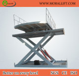 CE Certification Scissor Car Lift with Turntable