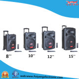 Trolley Battery Stage Speaker with Professional Amplifier F-395