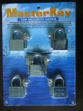 Master Keys Leaves Padlock W/Vane Keys (M405)