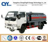 New China LNG Liquid Oxygen Nitrogen Argon Tank Car Semi Trailer