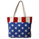 Eco Friendly Reusable Tote Bag Cotton Canvas Bag with Zipper