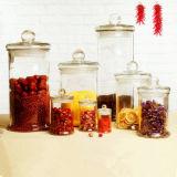 150ml-7500ml Glass Tea Jar Customized Logo Candle Jar Candle Holders