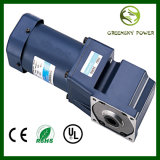 GS High Torque Long Life 25~180W 90mm AC Spiral Bevel Angle Gear Motor for Industrial Machine