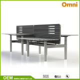 2016 New Hot Sell Height Adjustable Table with Workstaton (OM-AD-044)