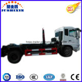 Dongfeng Hook Arm Lifting Euro 4 Garbage Container Tank Truck
