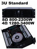 Aq Series, 3u Standard Cabinet, 2 Channels Professional Power Amplifier
