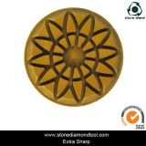 100mm Sunflower Resin Floor Polishing Disc